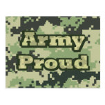 Army Proud Postcard
