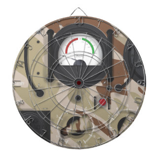 Army Radio desert camouflage. Dartboard