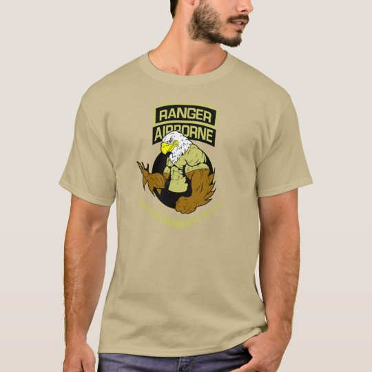 "Army Ranger Airborne ""Messing with The Best"" T-Shirt"