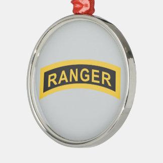 Army Ranger Tab Christmas Ornament