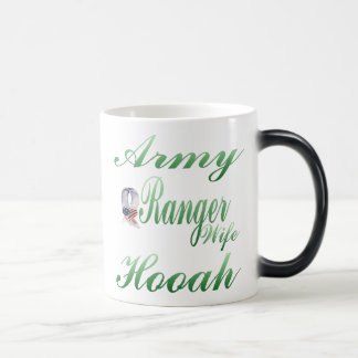 army ranger wife magic mug