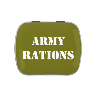 Army Rations Jelly Belly Candy Tin
