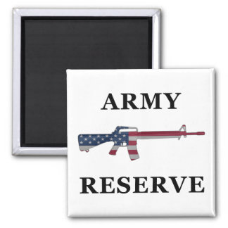 Army Reserve M16 Magnet