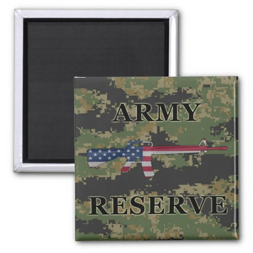 Army Reserve M16 Magnet Digital