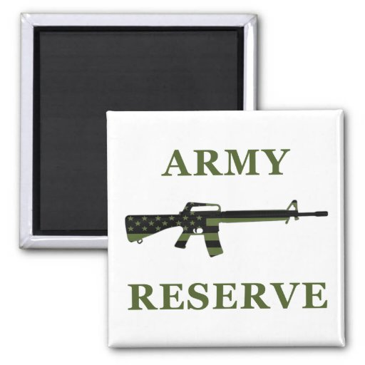 Army Reserve M16 Magnet Subdued