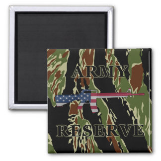 Army Reserve M16 Magnet Tiger Stripe