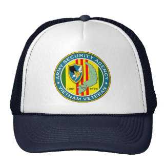 Army Security Agency - Vietnam Veteran Cap