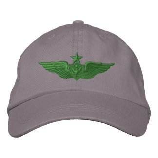 Army Senior Airman Embroidered Hat