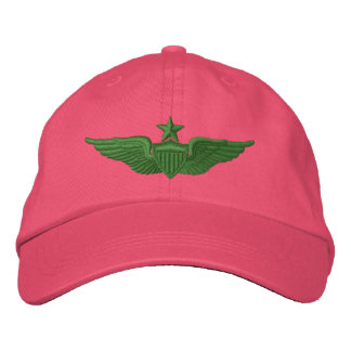 Army Senior Pilot Embroidered Hat