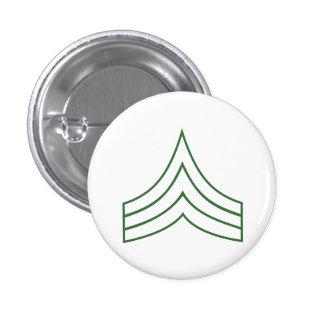 Army Sergeant Rank Insignia Button
