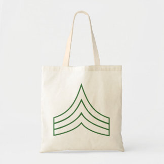 Army Sergeant Rank Insignia Tote Bags