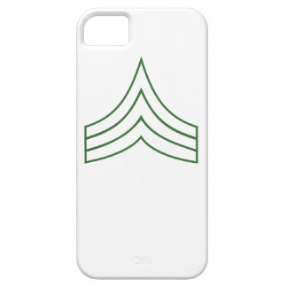 Army Sergeant Rank Insignia Case For iPhone 5/5S
