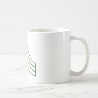 Army Sergeant Rank Insignia Coffee Mug