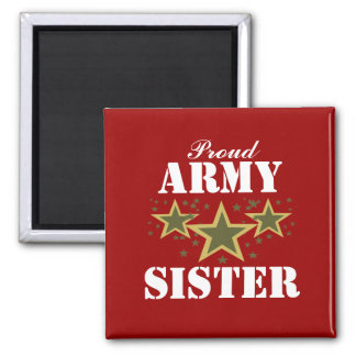 ARMY SISTER MAGNET