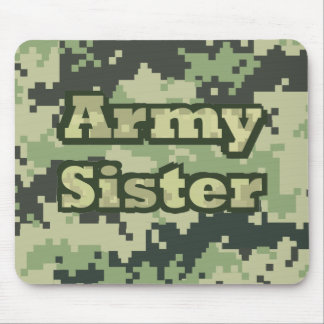 Army Sister Mouse Mat