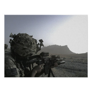 Army Soldier Poster