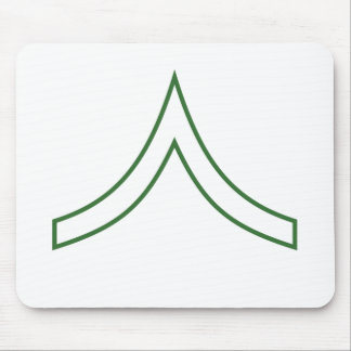 Army Soldier Rank Insignia Mousepad