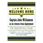 Army Soldier Welcome Home Invitation 13 Cm X 18 Cm Invitation Card