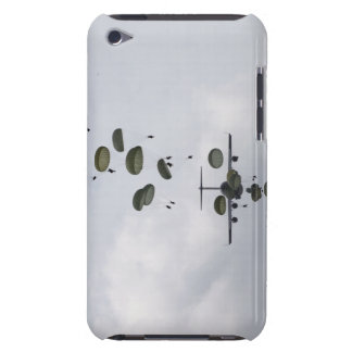 Army Soldiers jump out of a C-17 Globemaster II iPod Touch Cases