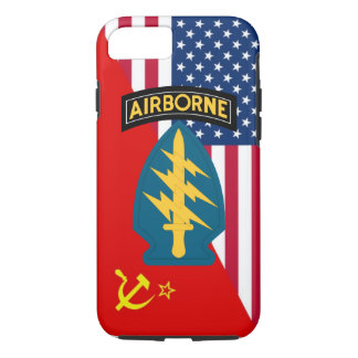 """Army Special Forces """"Green Berets"""" Cold War iPhone 7 Case"""