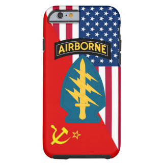 "Army Special Forces ""Green Berets"" Cold War Tough iPhone 6 Case"