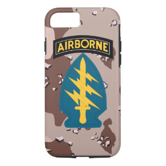 """Army Special Forces """"Green Berets"""" Desert Camo iPhone 7 Case"""