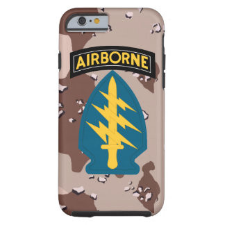 "Army Special Forces ""Green Berets"" Desert Camo Tough iPhone 6 Case"