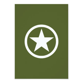 Army Star Card