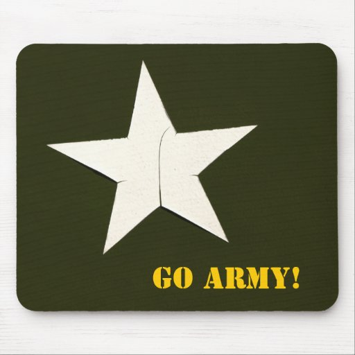army star, Go Army! Mousepads