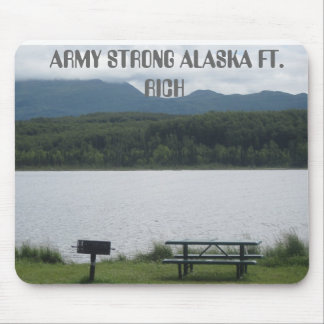 ARMY STRONG ALASKA FT. RICH MOUSE PAD