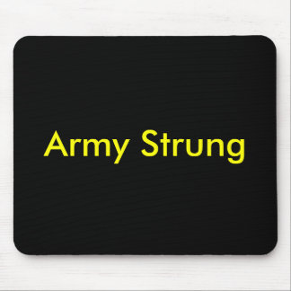Army Strung Mouse Pad