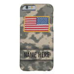 Army Style Camouflage Case Barely There iPhone 6 Case