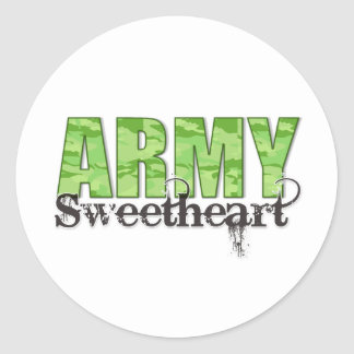Army Sweetheart Stickers