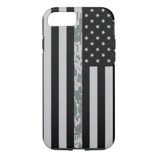 Army Thin Digi Camo Line Flag iPhone 7 Case