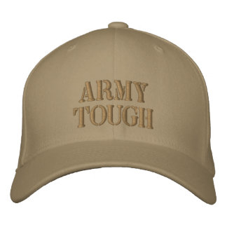 ARMY TOUGH Custom Embroidered Hat