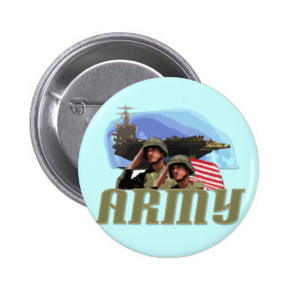 ARMY Tshirts and Gifts 6 Cm Round Badge