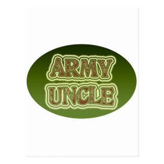 Army Uncle Postcard
