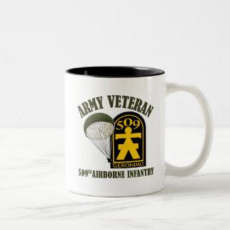 Army Veteran - 509th PIR Coffee Mug