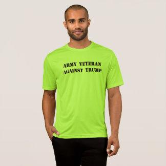 Army Veteran Against Trump T-Shirt