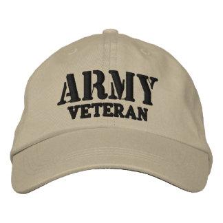 Army Veteran Hat Baseball Cap