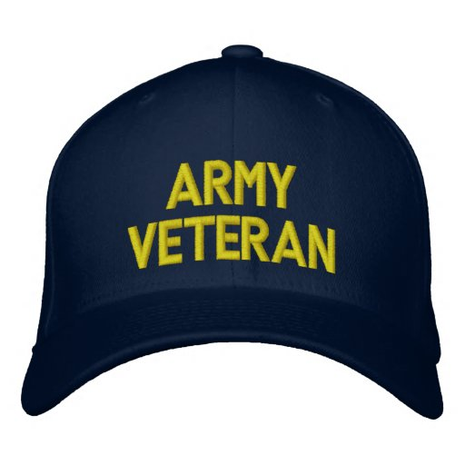 Army Veteran Hat Embroidered Baseball Caps