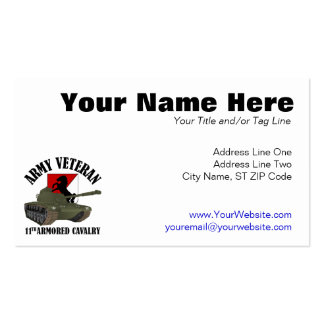 Army Veteran - M-48 Business Card