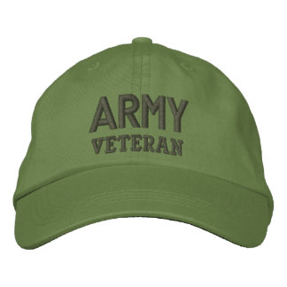 Army Veteran Military Baseball Cap