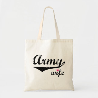 Army Wife Budget Tote Bag