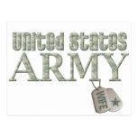 Army Wife - Camo Postcard
