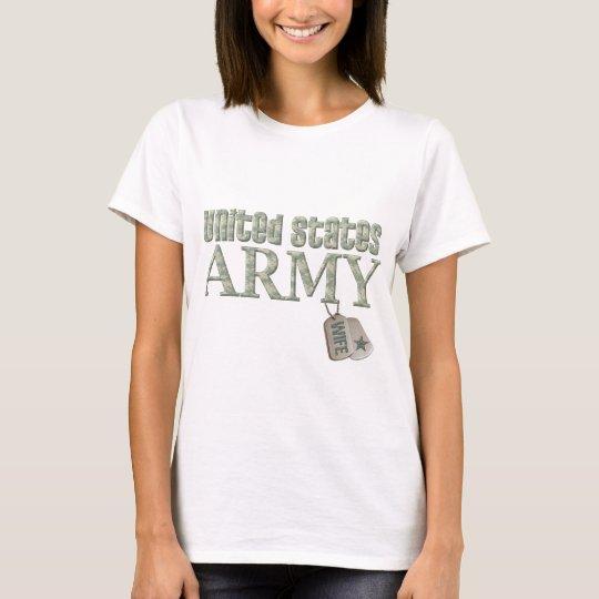 Army Wife - Camo T-Shirt