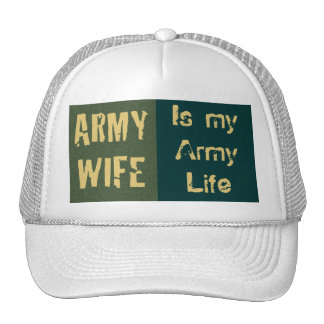 Army Wife Cap Hat