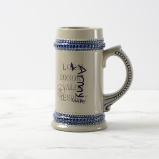 Army Wife - Eagle Beer Steins