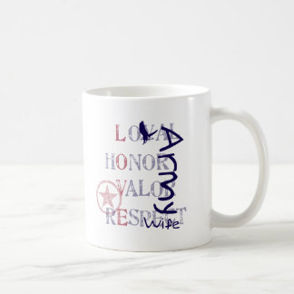 Army Wife - Eagle Coffee Mugs