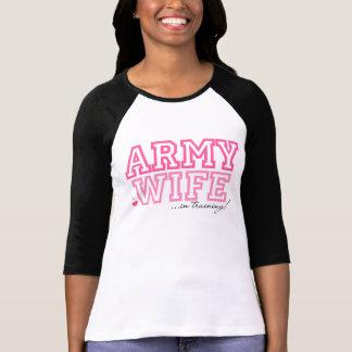 Army Wife in training Tshirt